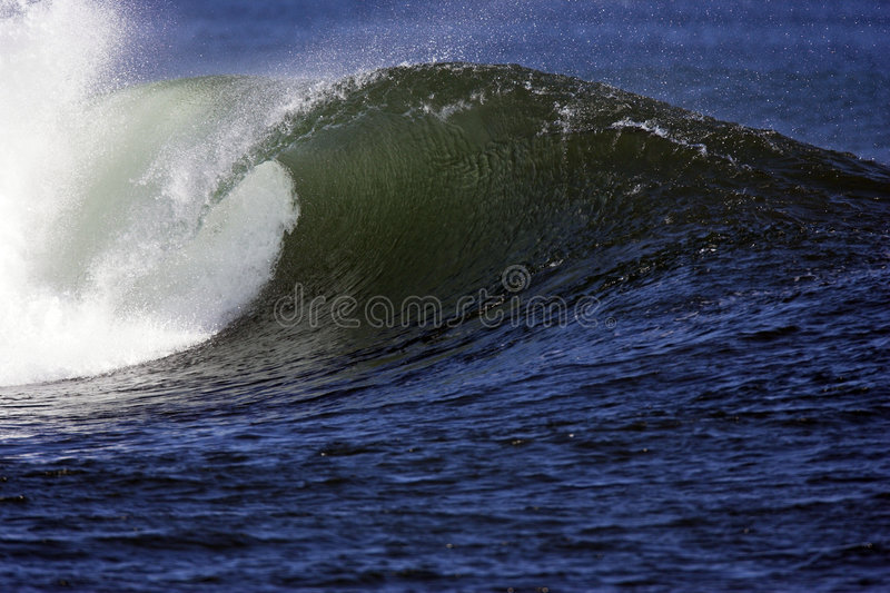 Wave at bowls stock photo
