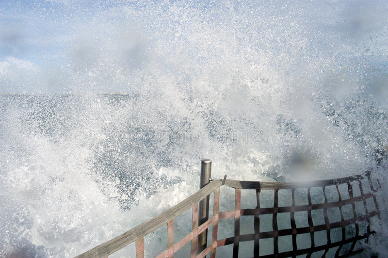 Download Wave Break stock image. Image of travel, water, boat, channel - 171039