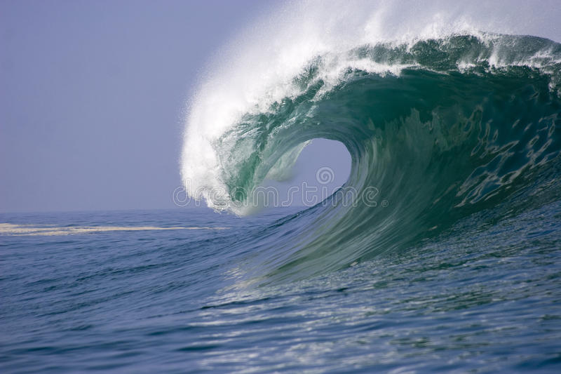 Download Wave breaking in chile2 stock image. Image of water, pacific - 20897657