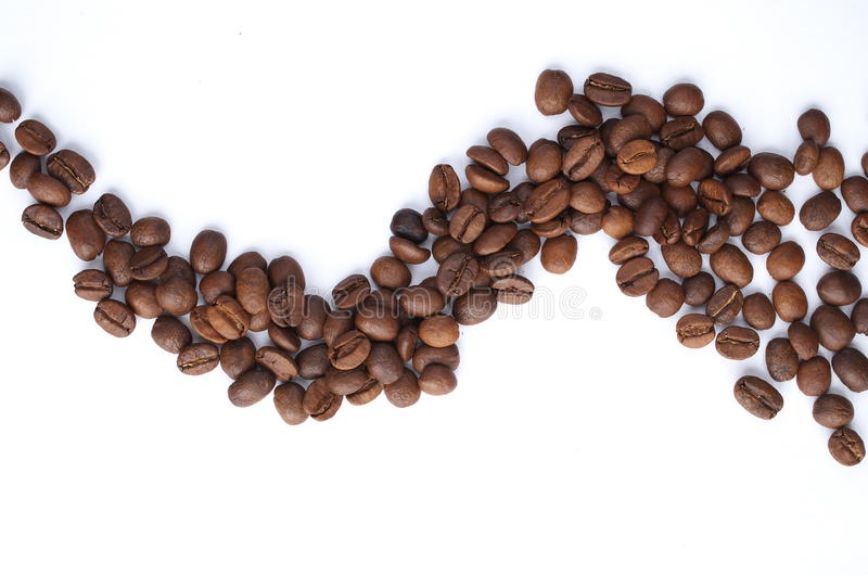 Wave of coffee royalty free stock images