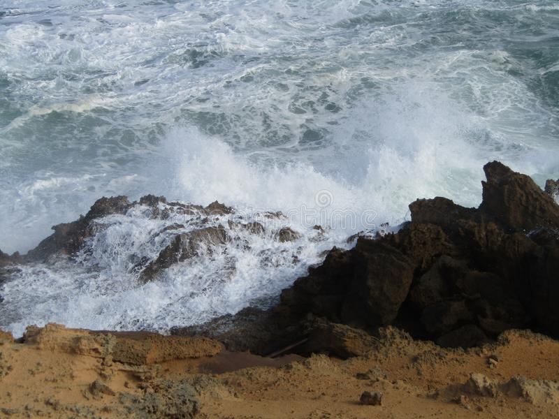 Wave crash royalty free stock image
