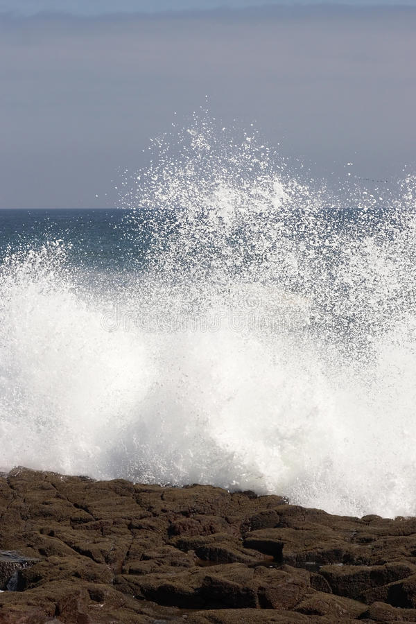 Download Wave Crashing Against The Shore Stock Photo - Image: 10605134