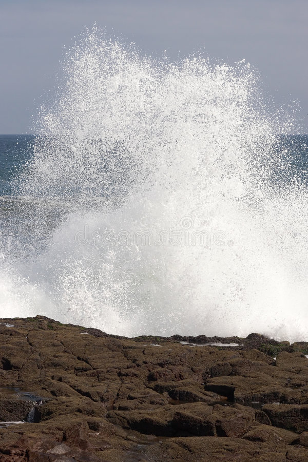 Download Wave crashing on the shore stock photo. Image of pacific - 9312090