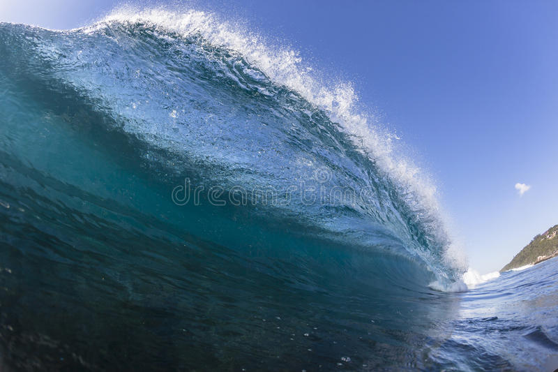 Wave Crashing Water stock photo