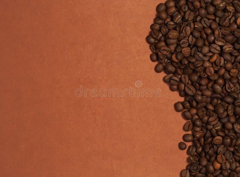 Wave dei chicchi di caffè immagini stock