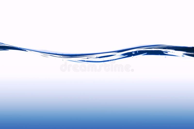 Wave di acqua blu fotografia stock libera da diritti