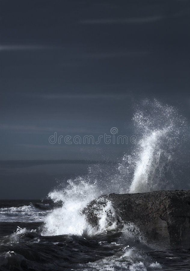 Wave Energy royalty free stock photography