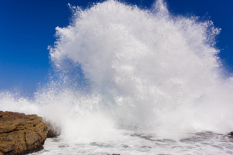 Wave Exploding Water stock photo