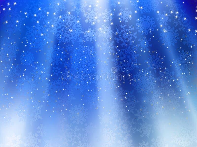 Download Wave För 8 Blå Eps-snowflakes För Bakgrund Vektor Illustrationer - Illustration av december, festligt: 19791321