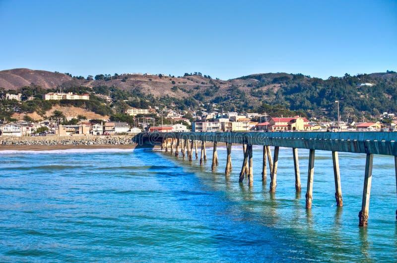 wave för hav för Kalifornien pacificapir royaltyfri foto