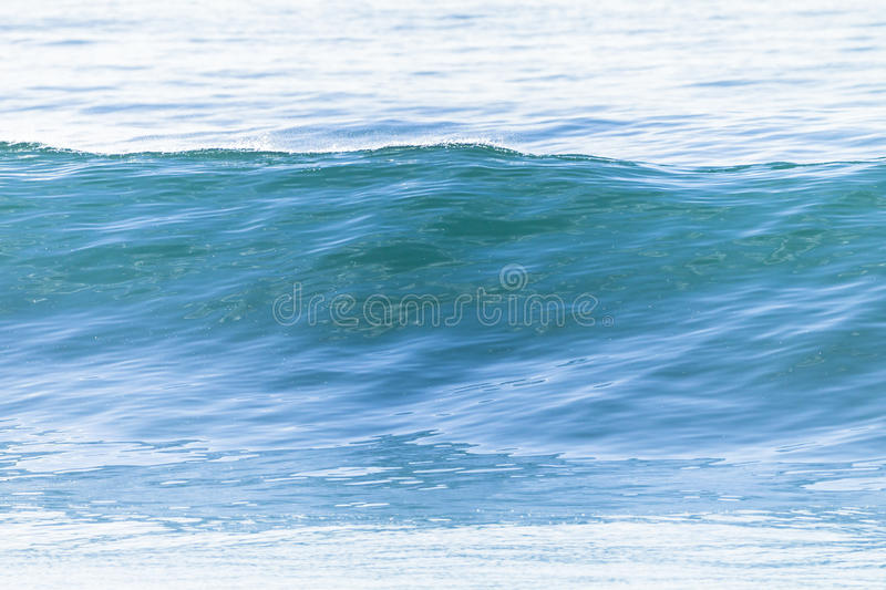 Wave Glassy Water stock image