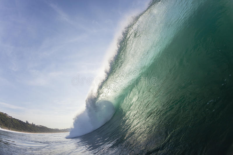 Wave Inside Color stock image