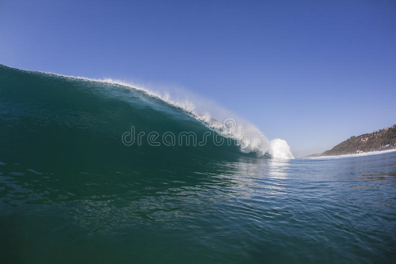 Wave Inside Swimming royalty free stock photos