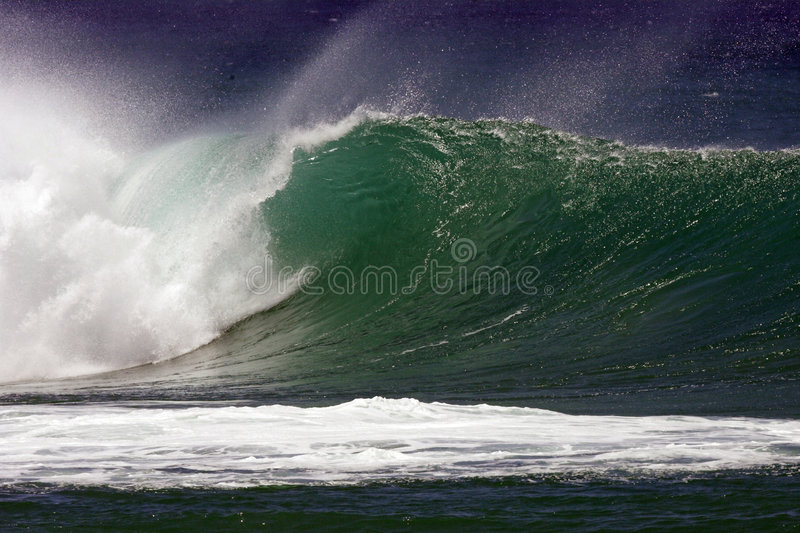 Wave IV stock image