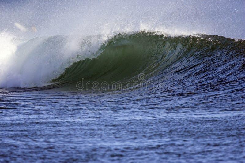 Wave at kewalos stock photography