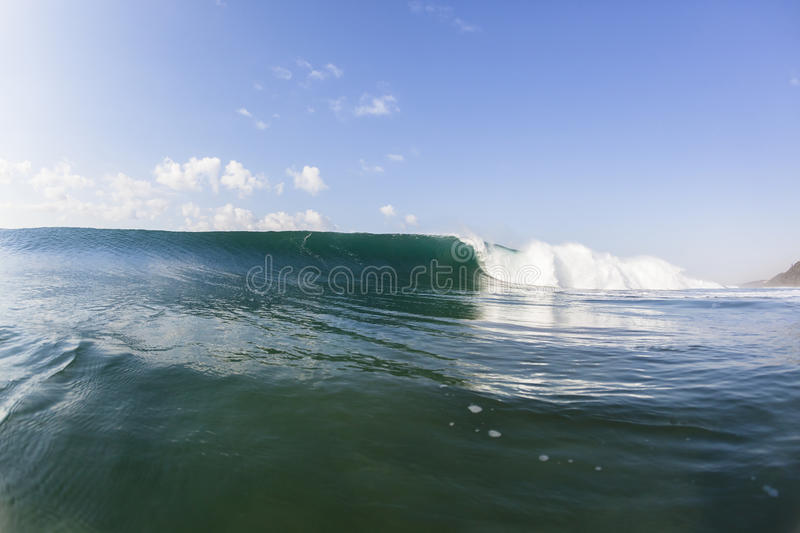 Wave Landscape stock image