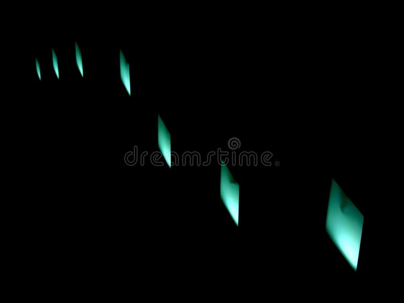 Wave of Light. Abstract wave of light stock image