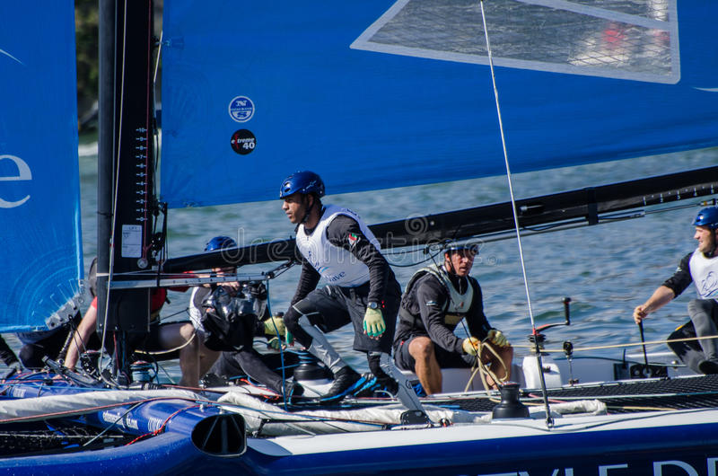 Download The Wave - Muscat compete editorial photography. Image of regatta - 25609537