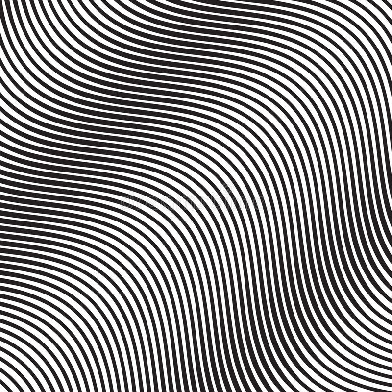 Wave Oblique Smooth Lines Pattern in Vector. EPS 10 vector illustration
