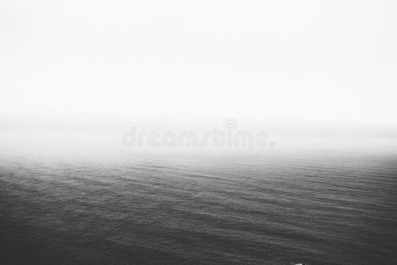 Wave In Ocean In Black And White Free Public Domain Cc0 Image