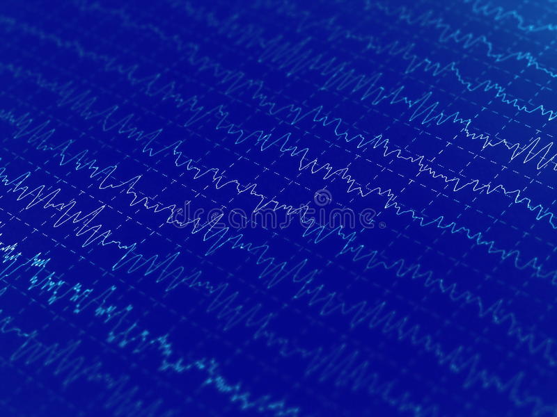 Download Wave Oscillations, Brain Waves Stock Photo - Image: 24373310