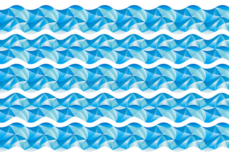 Download Wave pattern stock illustration. Illustration of pattern - 30427528