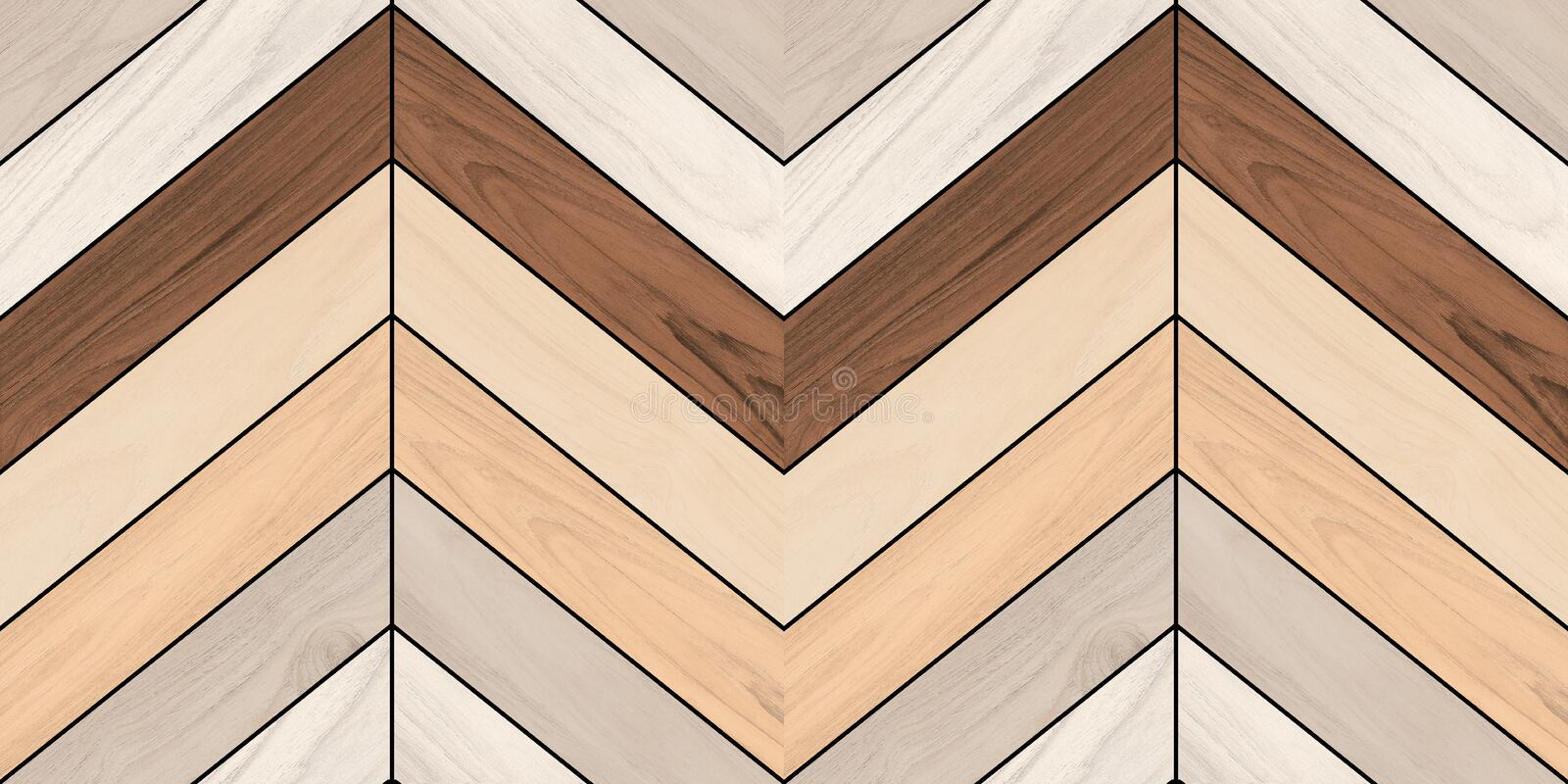 Wave pattern decor wooden wall background royalty free stock photos