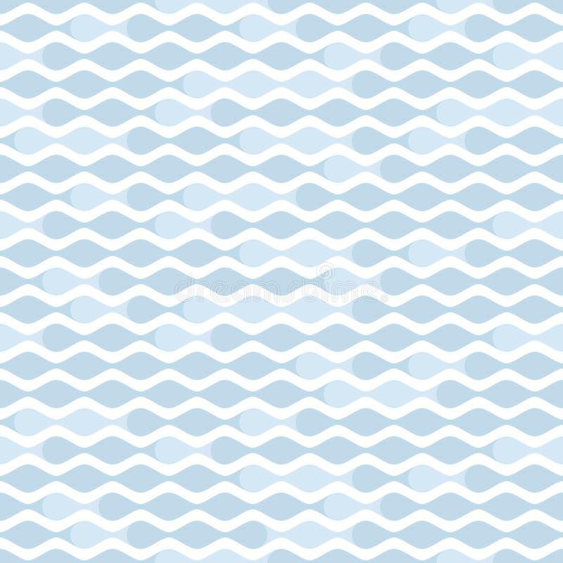 Wave pattern stock illustration