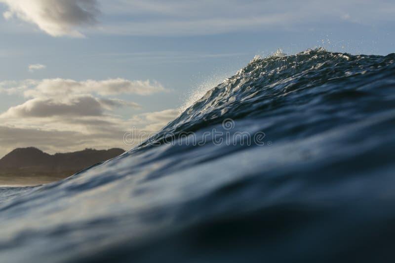 Wave Peak royalty free stock photo