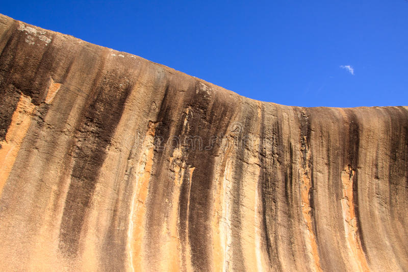 Wave rock royalty free stock image