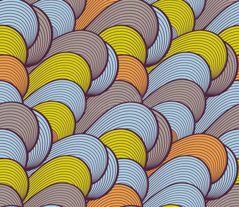 Download Wave Seamless Pattern Stock Photos - Image: 20376203
