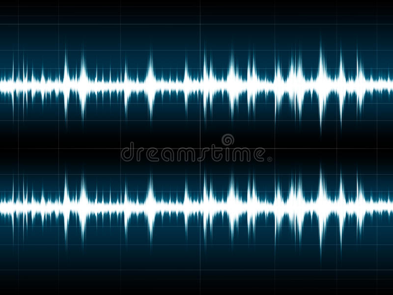 Download Wave Sound stock illustration. Image of frequency, musician - 10456355