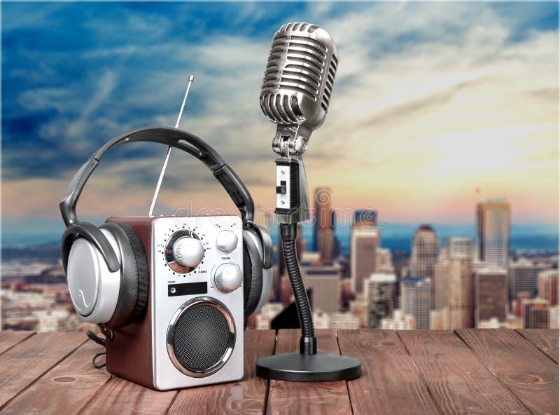 Wave sound radio royalty free stock images