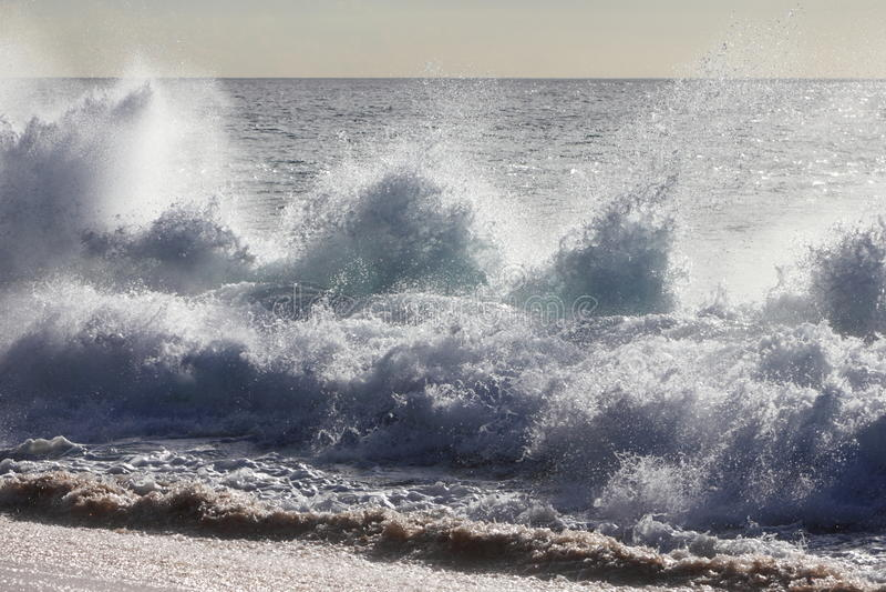 Wave Splash stock image