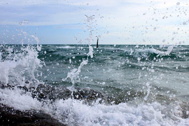 Wave Splatter royalty free stock photo