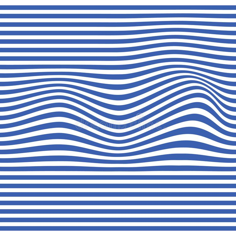 Wave Stripe Background - simple texture for your design. royalty free illustration