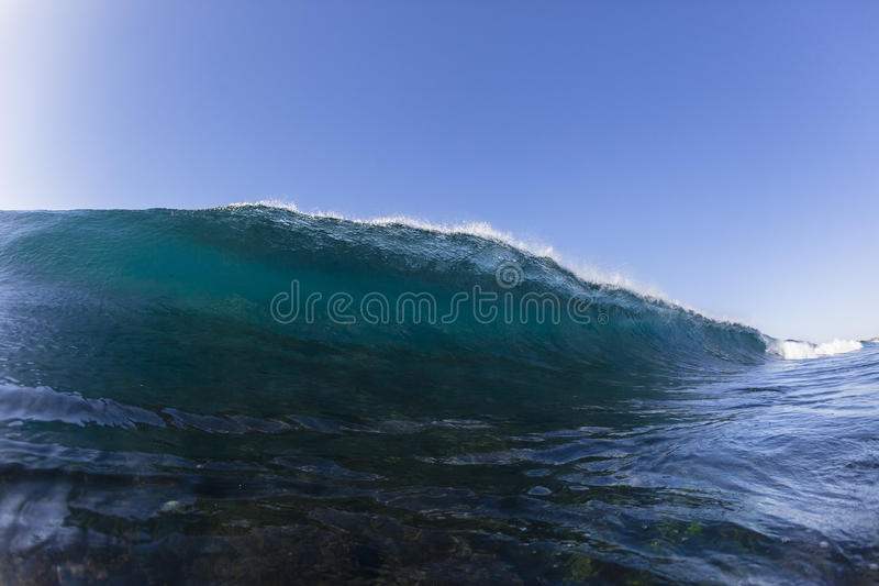 Wave Swimming stock photos