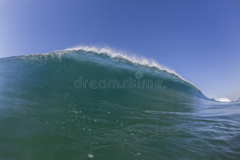 Wave Water Blue stock photos