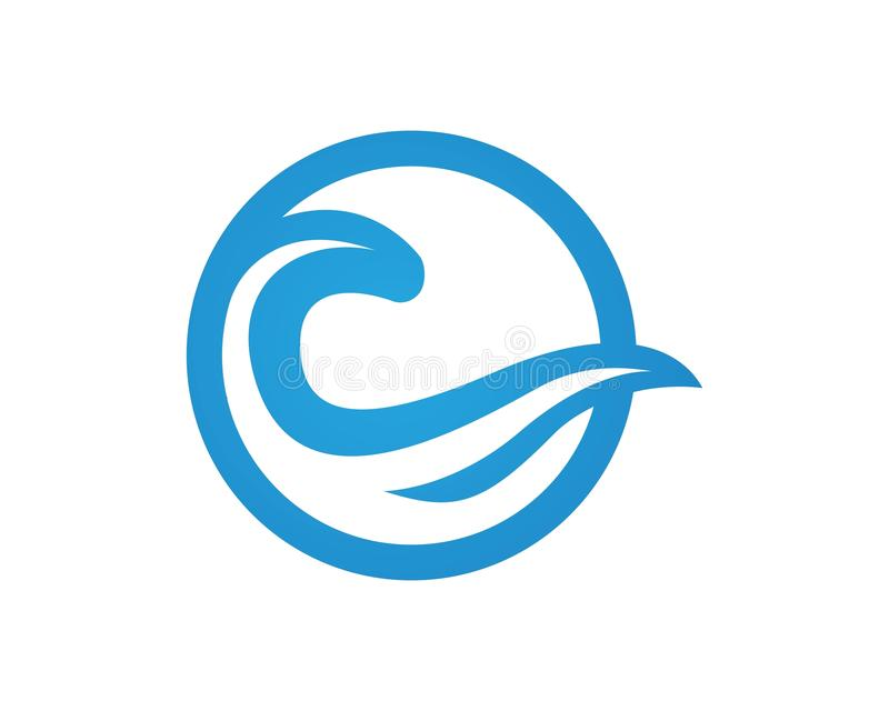 wave water logos template vector stock vector illustration of rh dreamstime com wave logon wave logistics inc