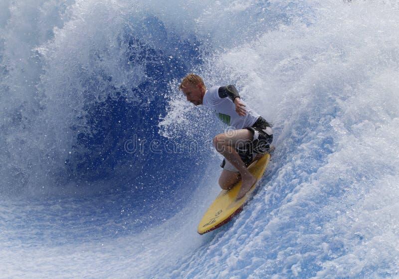Waveboarder lizenzfreies stockbild