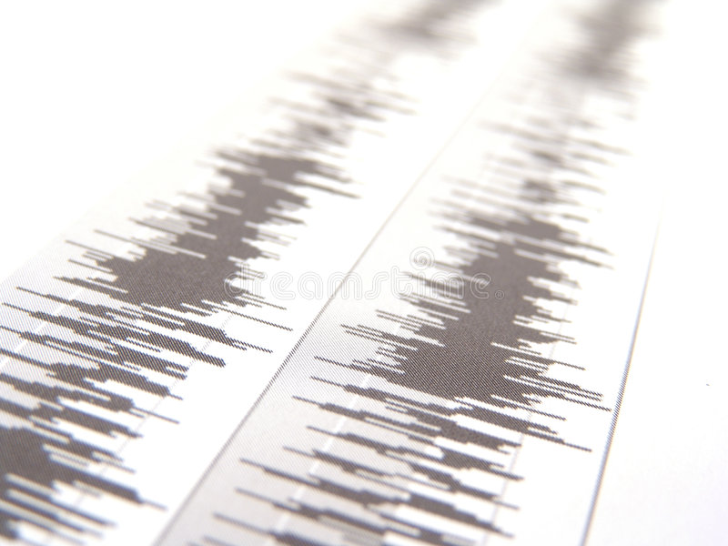 Download Waveform stock image. Image of test, stereo, technology - 3997561