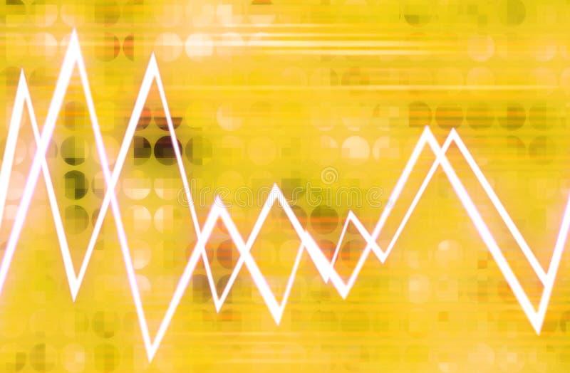 Download Waveform 9 stock illustration. Illustration of chart, bright - 605414