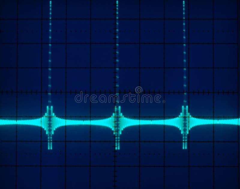 waveforms przejawy zdjęcia royalty free