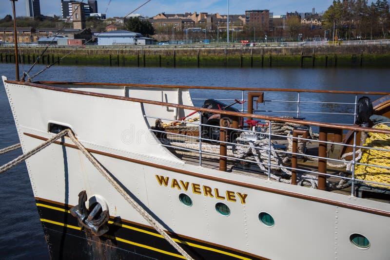 Waverley στο Clydeside, Γλασκώβη, Σκωτία, UK στοκ εικόνα με δικαίωμα ελεύθερης χρήσης