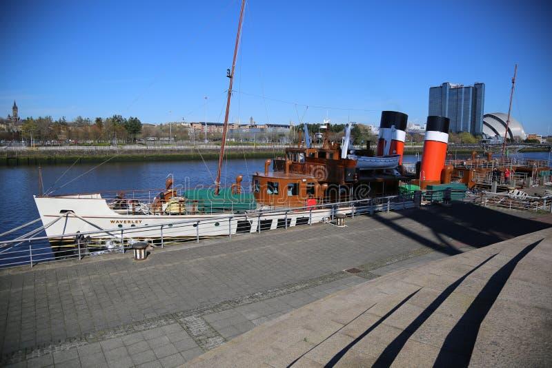 Waverley στο Clydeside, Γλασκώβη, Σκωτία, UK στοκ εικόνες