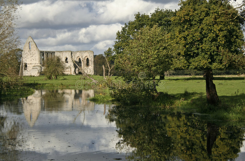 Download Waverley Abbey Ruins River Wey England Stock Photo - Image: 294076