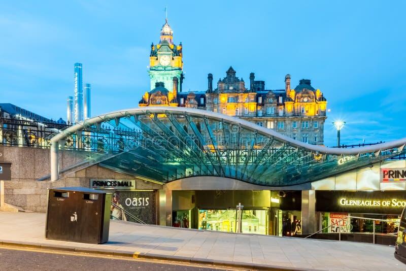 Waverley centrum handlowe, Edynburg obrazy stock
