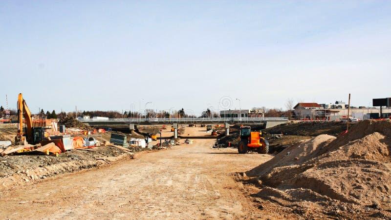 Waverley przejścia podziemnego Uliczna budowa Kwiecień 2019 obrazy royalty free