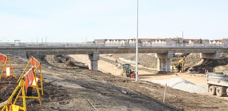 Waverley przejścia podziemnego Uliczna budowa Kwiecień 2019 fotografia stock