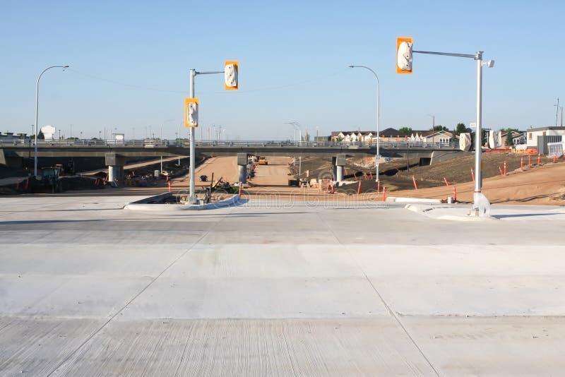 Waverley-Straßen-Unterführungs-Bau im Juni 2019 lizenzfreie stockfotografie